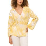 Mystree Women's Tie Dye Hoodie Sweater