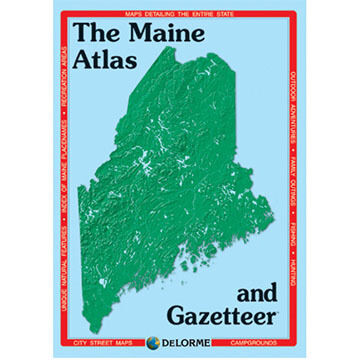 DeLorme Maine Atlas & Gazetteer
