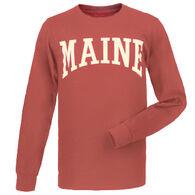Cape Cod Textile Men's Maine Arch Design Long-Sleeve T-Shirt