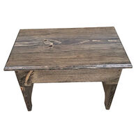 Clearly Concealed Solid Pine Footstool
