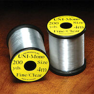 Hareline Uni Clear Mono 3/0 Thread Fly Tying Material