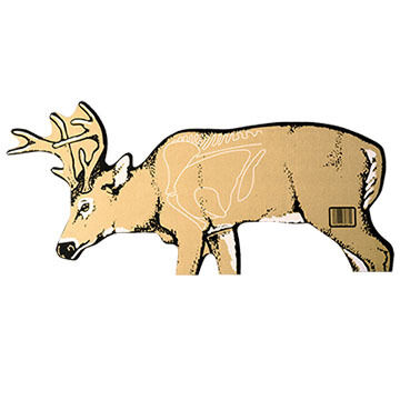 Delta McKenzie Cardboard Deer Archery Target