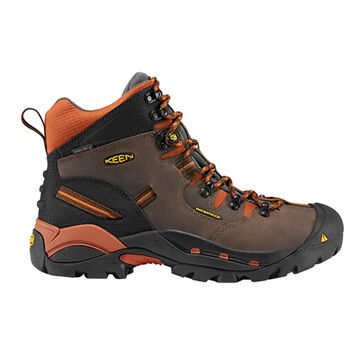 Keen Mens Pittsburgh Soft Toe Waterproof Work Boot