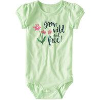 Carhartt Infant/Toddler Girls' Grow Wild & Free Bodysuit