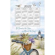 Kay Dee Designs 2022 Beach Bike Calendar Towel