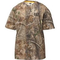 CAT Apparel Men's Camo Short-Sleeve T-Shirt