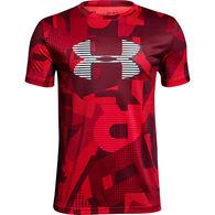 Under Armour Boys' Tech Printed Big Logo Short-Sleeve T-Shirt