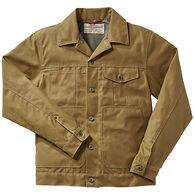 Filson Men's Tin Cloth Short Lined Cruiser Jacket