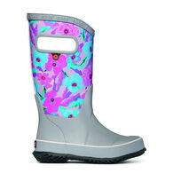 Bogs Girls' Rainboot Pansies Rain Boot