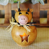 Meadowbrooke Gourds Nellie Miniature Cow Gourd