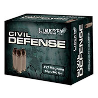 Liberty Civil Defense 357 Magnum 50 Grain Lead-Free HP Handgun Ammo (20)
