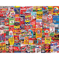 White Mountain Jigsaw Puzzle - Wacky Packages