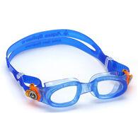 Aqua Sphere Youth Moby Kid Clear Lens Swim Goggle