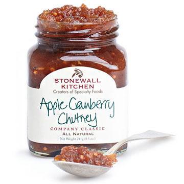 Stonewall Kitchen Apple Cranberry Chutney, 8.5 oz