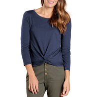 Toad&Co Women's Maisey Three Quarter-Sleeve Twist Top