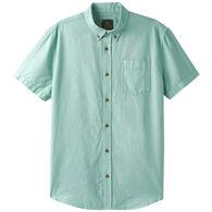 prAna Men's Broderick Texture Short-Sleeve Shirt