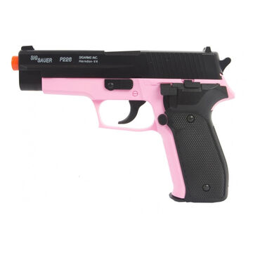 Palco Sports SIG Sauer P226 Spring-Powered Airsoft Pistol w/ Spare Mag