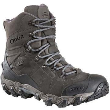 Oboz Mens Bridger 8 Waterproof BDry Insulated Hiking Boot, 200g