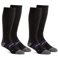 Magnum Men's Compression Work Over-the-Calf Sock - 2 Pk
