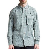 ExOfficio Men's Air Strip Micro Plaid Long-Sleeve Shirt