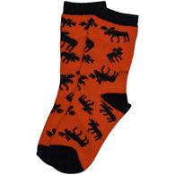 Lazy One Children's Classic Moose Sock