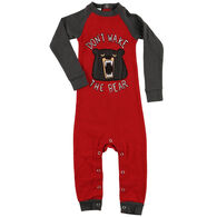 Lazy One Infant Don't Wake The Bear Union Suit