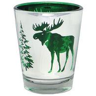 Cape Shore Maine Moose Metallic Shot Glass
