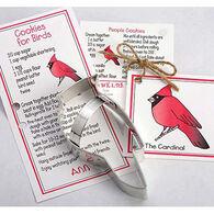 Ann Clark Tin Cookie Cutter - Cardinal