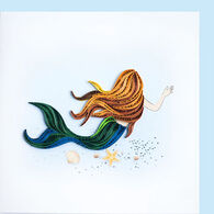 Quilling Card Mermaid Everyday Card