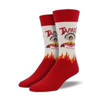 Socksmith Design Men's Tapatio Logo Crew Sock