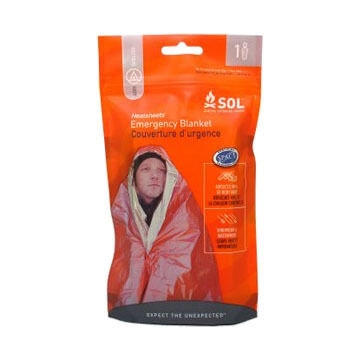 SOL One Person Survival Blanket