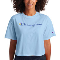 Champion Women's Cropped Short-Sleeve T-Shirt