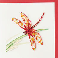 Quilling Card Dragonfly Everyday Card
