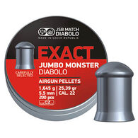JSB Match Diabolo Exact Jumbo Monster 22 Cal. 5.5mm 25.39 Grain Air Gun Pellet (200)