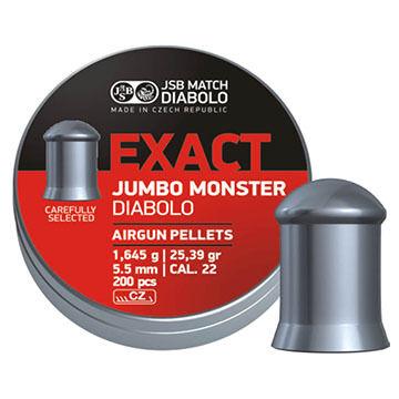 JSB Match Diabolo Exact Jumbo Monster 22 Cal. 5.5mm 25.39 Grain Air Gun Pellet (200)