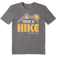 Life is Good Men's Take A Hike Cool Tee Short-Sleeve T-Shirt