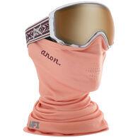 Anon Women's WM1 Snow Goggle + Spare Lens + MFI Facemask - 19/20 Model
