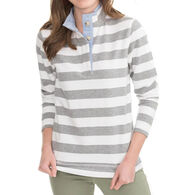Southern Tide Women's Waylon Stripe Long-Sleeve Pullover
