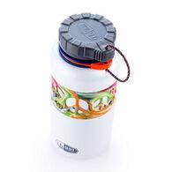 GSI Outdoors Tie-Dye Peace Dukjug 1.0 L Stainless Steel Water Bottle