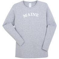 Original Design Women's Maine Arch Long-Sleeve T-Shirt