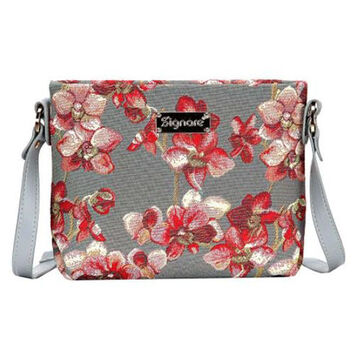 Signare Womens Orchid Bag Purse Crossbody Handbag