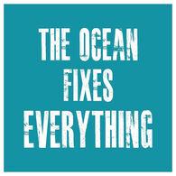 Sticker Cabana Ocean Fixes Everything Sticker