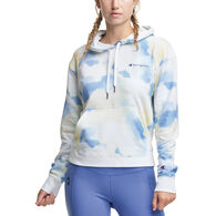 Champion Women's Campus French Terry Graphic Hoodie