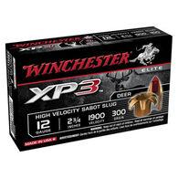 "Winchester XP3 12 GA 2-3/4"" 300 Grain Sabot Slug Ammo (5)"