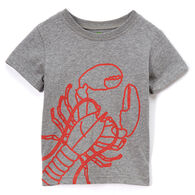 Doodle Pants Toddler Boys' Lobster Short-Sleeve T-Shirt