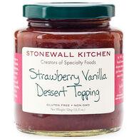 Stonewall Kitchen Strawberry Vanilla Dessert Topping, 11.5 oz.