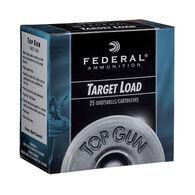 "Federal Top Gun Target 12 GA 2-3/4"" 1-1/8 oz. #8 Shotshell Ammo (25)"