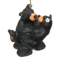 "Big Sky Carvers ""Embrace"" Bear Ornament"