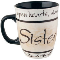 Carson Home Accents Heartnotes Sister Mug
