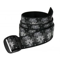 Bison Designs Women's 38mm Manzo Buckle Flower Belt